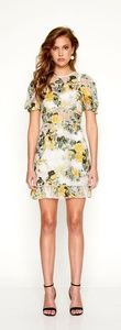 Alice McCall So Darling Floral lace dress.Sunset